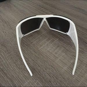 b49dc312fb Christian Dior Accessories - Christian Dior White Wide Frame Sunglasses