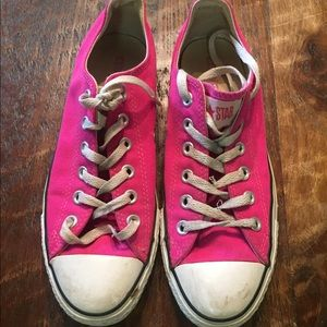 pink all star converse
