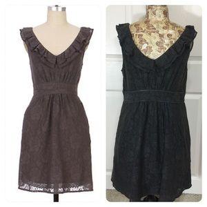 Anthropologie Maeve Dusky Needlework Dress