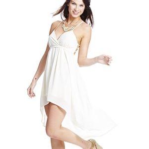 Angel in white dress