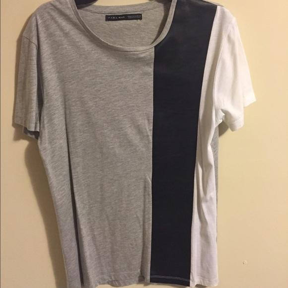 zara t-shirts men