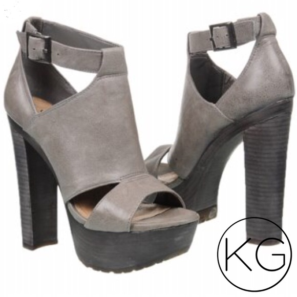 be490106c98 Jessica Simpson Shoes - Jessica Simpson Kylie Platform Sandal in Gray