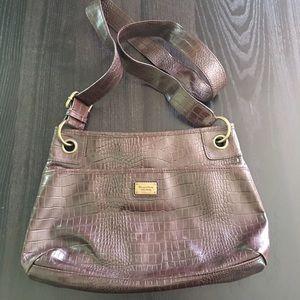 Simply Vera Brown Crossbody/Hobo Bag