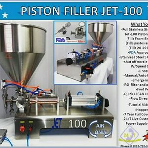 Zizzi Other - Piston Filler Single Head A/O JET 100 Perfume