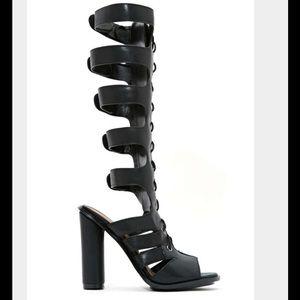 Nasty gal gladiator heels!