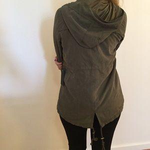 Jackets & Blazers - Supersoft Olive Utility Jacket