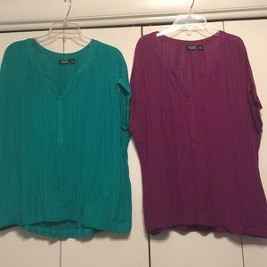 Bundle of 2 Short Sleeve Tops PXL