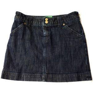Lilly Pulitzer Dresses & Skirts - Lilly Pulitzer denim mini