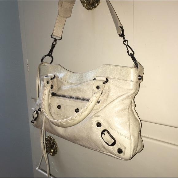 Balenciaga Handbags - SALE Authentic Balenciaga Classic First Bag Cream 91ea5e3f75848