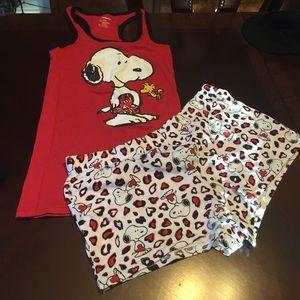 Other - Snoopy PJ set