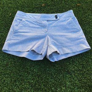 J. Crew Pants - J. Crew striped shorts