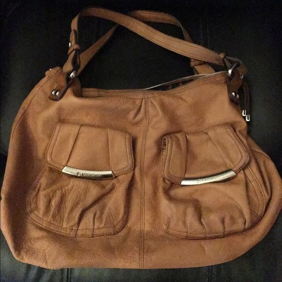 b. makowsky Bags   B Makowsky Tan Leather Bag A98252   Poshmark faa7f90041