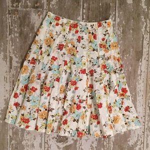 CAbi Dresses & Skirts - 💕Host Pick💕 CAbi Floral Skirt⚜