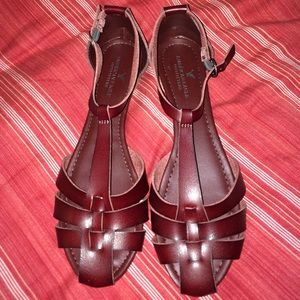 Shoes - AE sandals NWOT.