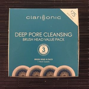 Brand new clarisonic deep pore cleansing brushhead