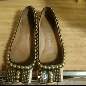 Studded Jeffrey Campbell flats