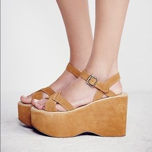 Kork Ease Suede Platforms
