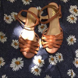 Shoes - Woven Open Toe Sandals