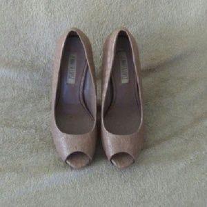 Jennifer Lopez Peep Toe Heels