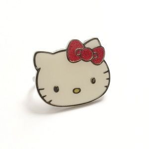 Hello Kitty Double Finger Ring