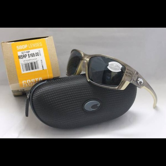 73a3a91c8ab New Costa Del Mar Cortez 580P Polarized Sunglasses