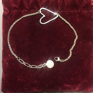 Zoe Ltd Jewelry - Zoe Chicco heart bracelet sterling silver
