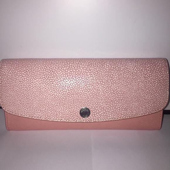 a32bc8db3552 Michael Kors Bags | Pink Juliana Large 31 Saffianowallet | Poshmark