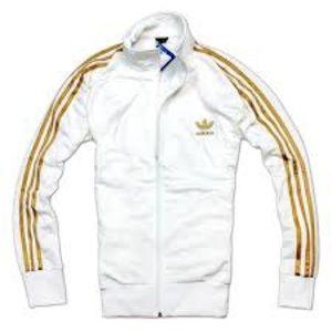 adidas gold jacket