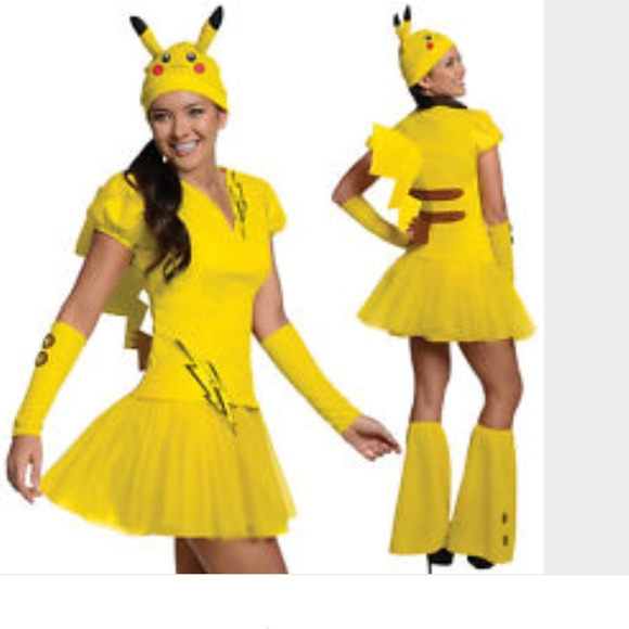 67% off Other - FINAL PRICE Pikachu Pokemon HALLOWEEN costume NWOT ...