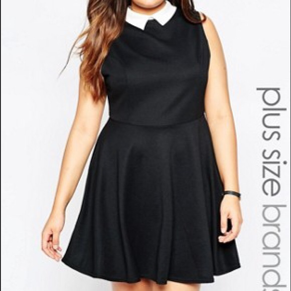 New Look Dresses | Inspire Peter Pan Collar Dress | Poshmark