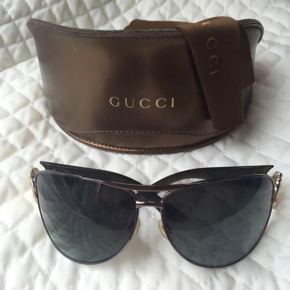 835258eb003 Gucci Accessories - Gucci GG 2834 S black bamboo sunglasses
