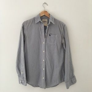 Oversized Abercrombie & Fitch button down shirt