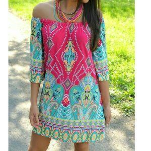 Xcel Couture Dresses & Skirts - Mimi Pink Tunic Dress