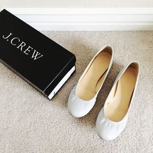 J. Crew Shoes - J.Crew Cece ballet flats in mineral grey size 7.5