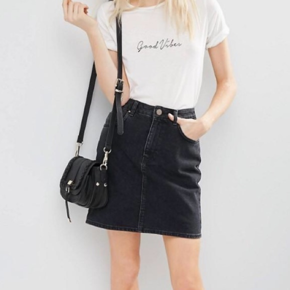 69% off Levi's Dresses & Skirts - Vintage Levis Denim Skirt ...
