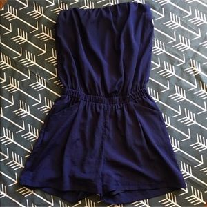 Francesca's Collections Other - 💙 NWOT Navy Blue Romper