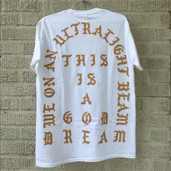 1bfd3504 Pablo Merch Shirts | Pablo Ultralight Beam Atlanta Ss Tee | Poshmark