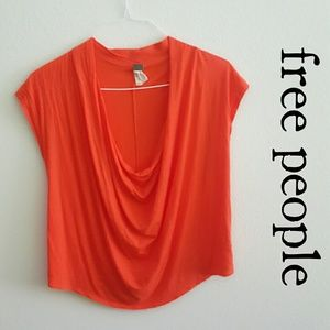 ⬇Today Only⬇Deep cowl neck top