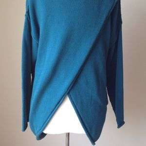 Pure Handknit Sweaters - Pure Hanknit Cowl Neck Sweater