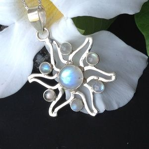 Genuine Moonstone Necklace