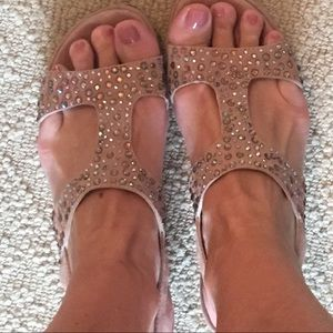 Riviera Shoes - Gorgeous nude pink sandals! Bought in France!