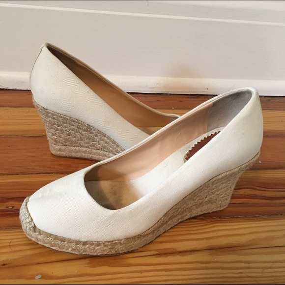 4f1596d6615 J. Crew Shoes - J Crew Seville canvas espadrille wedges ☀ 🌅