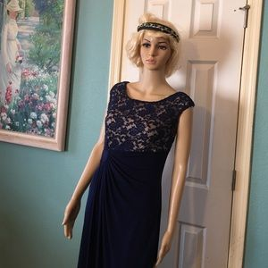 Connected Apparel Dresses & Skirts - Holiday special midnight blue gown