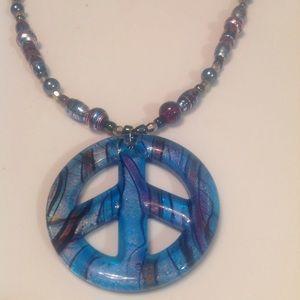"Jewelry - ""PEACE"" NECKLACE"