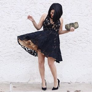 Lace Skater Tulle Dress