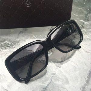 Gucci GG 3575/S Black and Gold Sunglasses