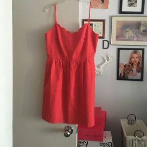 J. Crew Dresses - New with tags jcrew scallop dress