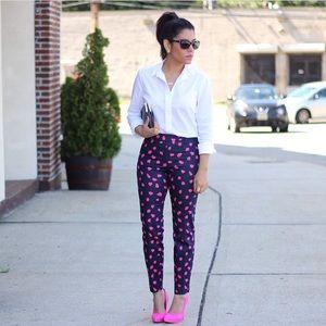 H&M Pants - Pink Printed Pants