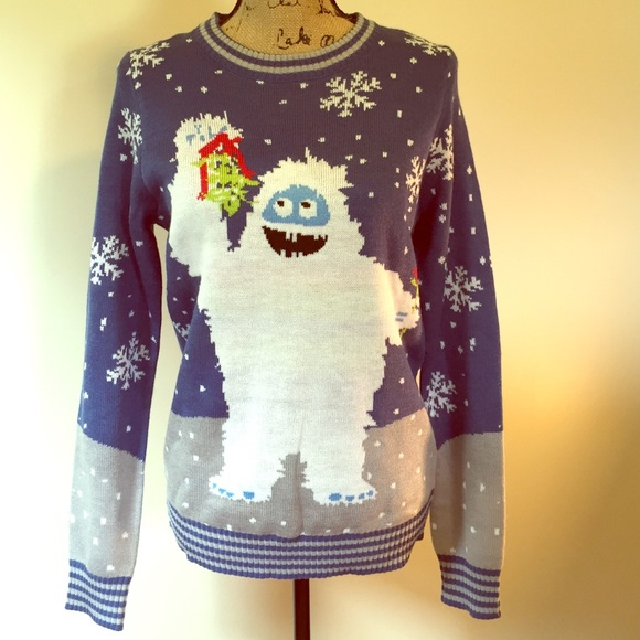 a9d4d666b7af Abominable Snowman Ugly Xmas Sweater 😂