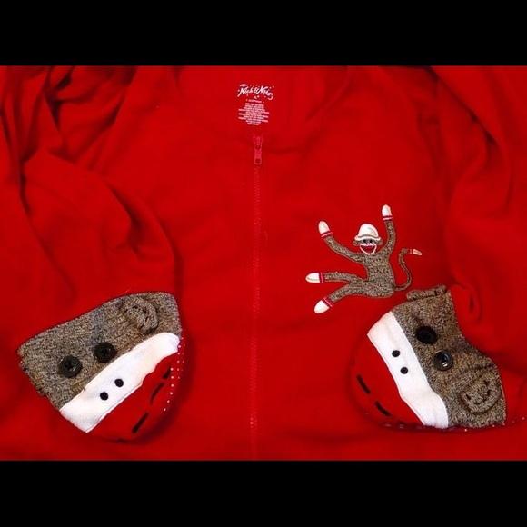 Sock Monkey Footie Onesie Pajama. M 57b8a2c17fab3a13770014ca 4625fd590